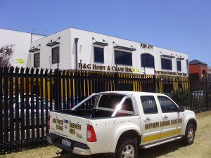Commercial buildings and vehicles