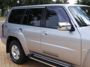 4WD window tinting