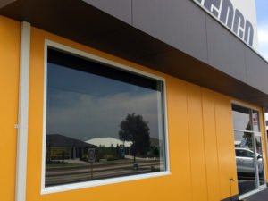 Security film will protect your store from vandals